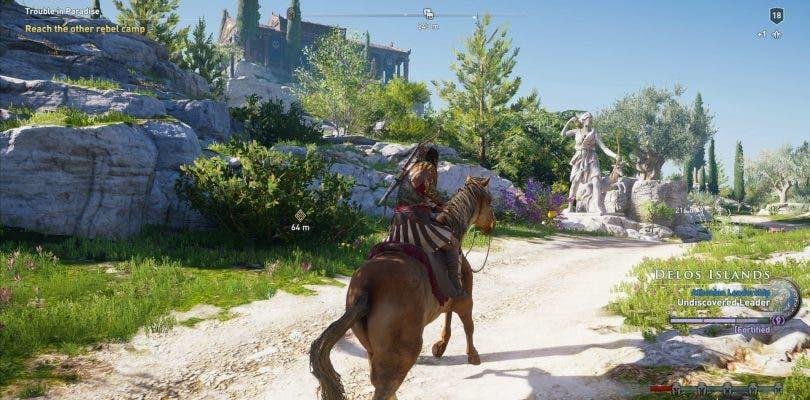 Recibimos toneladas de información sobre Assassin's Creed Odyssey