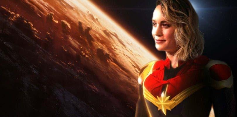 Capitana Marvel brilla en los nuevos concept arts de Avengers 4