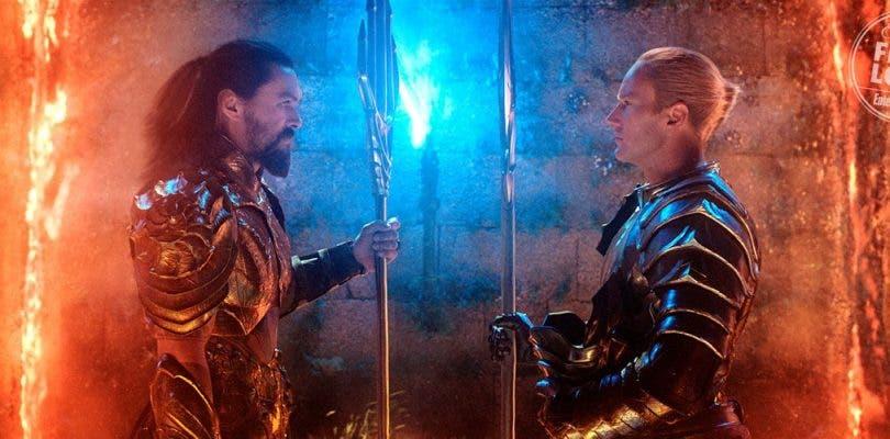 Jason Momoa se desata en las nuevas imágenes de Aquaman
