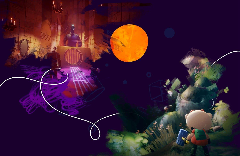 Imagen de Dreams muestra en un nuevo gameplay sus herramientas de creación