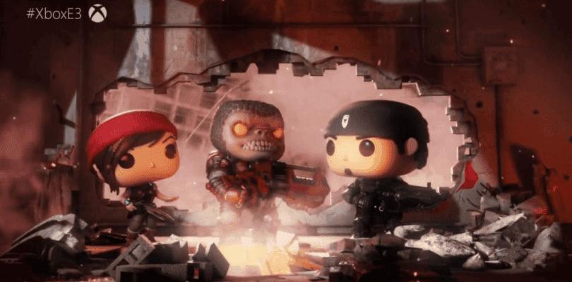 Los Funko se van a las armas con Gears Pop en el E3 2018