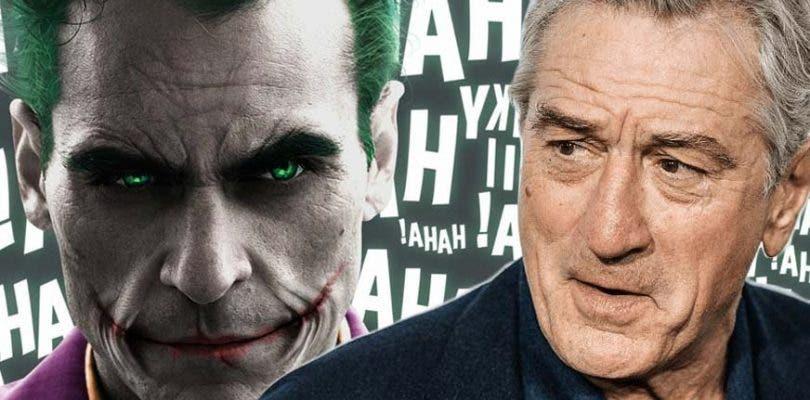 Robert De Niro suena para uno de los nuevos personajes de la película del Joker
