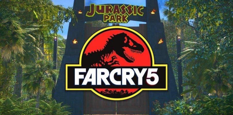 Jurassic Park es recreado en Far Cry 5