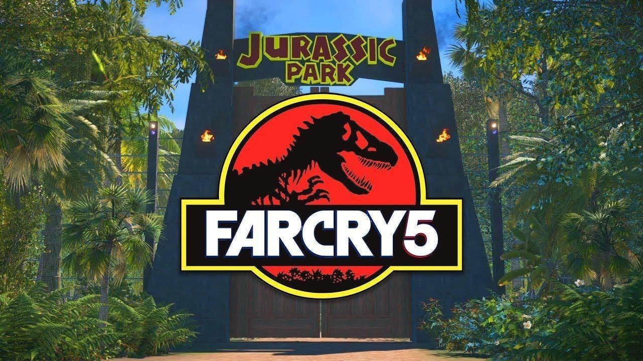 Imagen de Jurassic Park es recreado en Far Cry 5