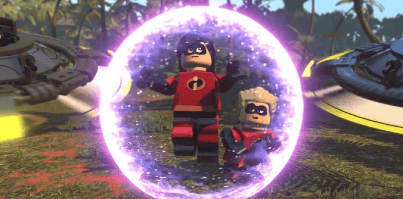 LEGO Los Increíbles protagoniza su propio tráiler de lanzamiento