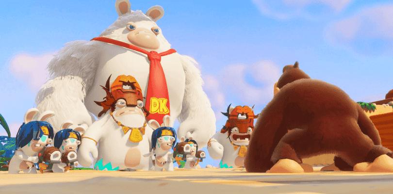 El DLC de Donkey Kong para Mario + Rabbids detalla su llegada