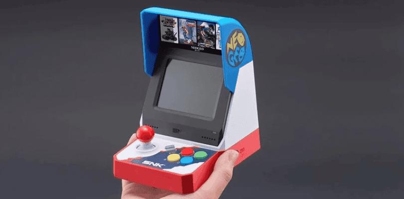 Neo-Geo Mini ya cuenta con fecha de lanzamiento en Japón