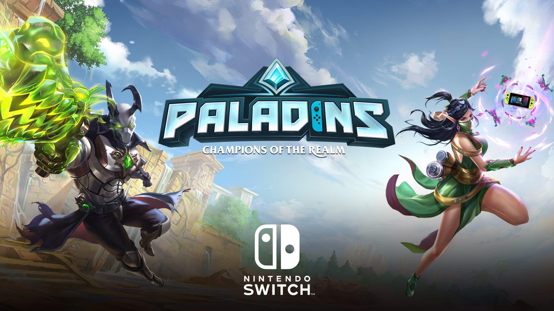 Imagen de Paladins tendrá a partir de noviembre controles giroscópicos en Nintendo Switch