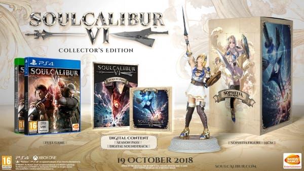 Soulcalibur VI Edicción coleccionista europea