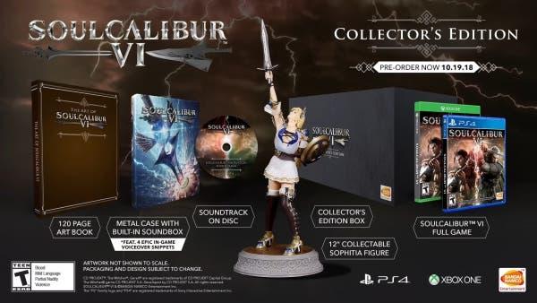Soulcalibur VI edición coleccionista americana