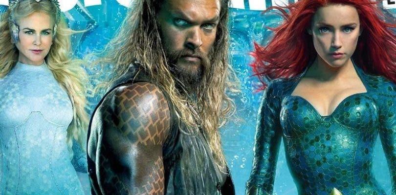 El primer tráiler de Aquaman no llegará hasta la Comic Con