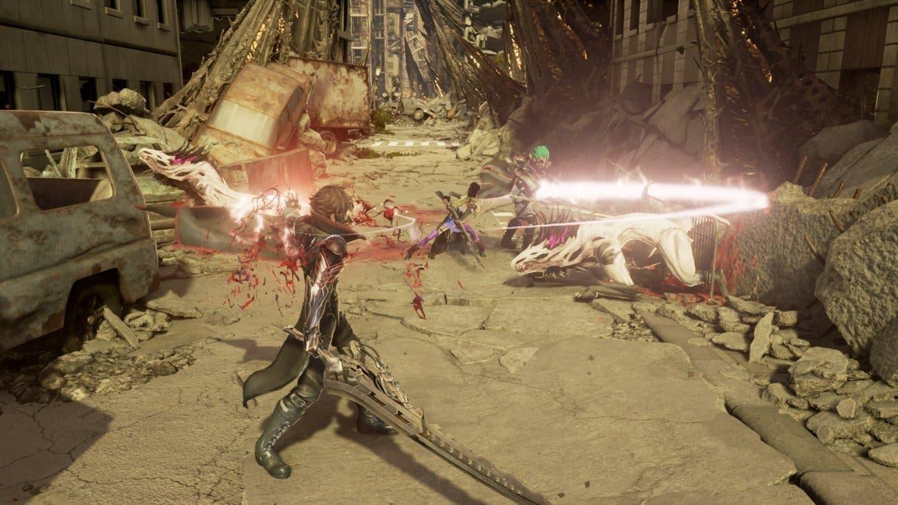 Imagen de Code Vein comparte un nuevo gameplay en un evento de PlayStation en China
