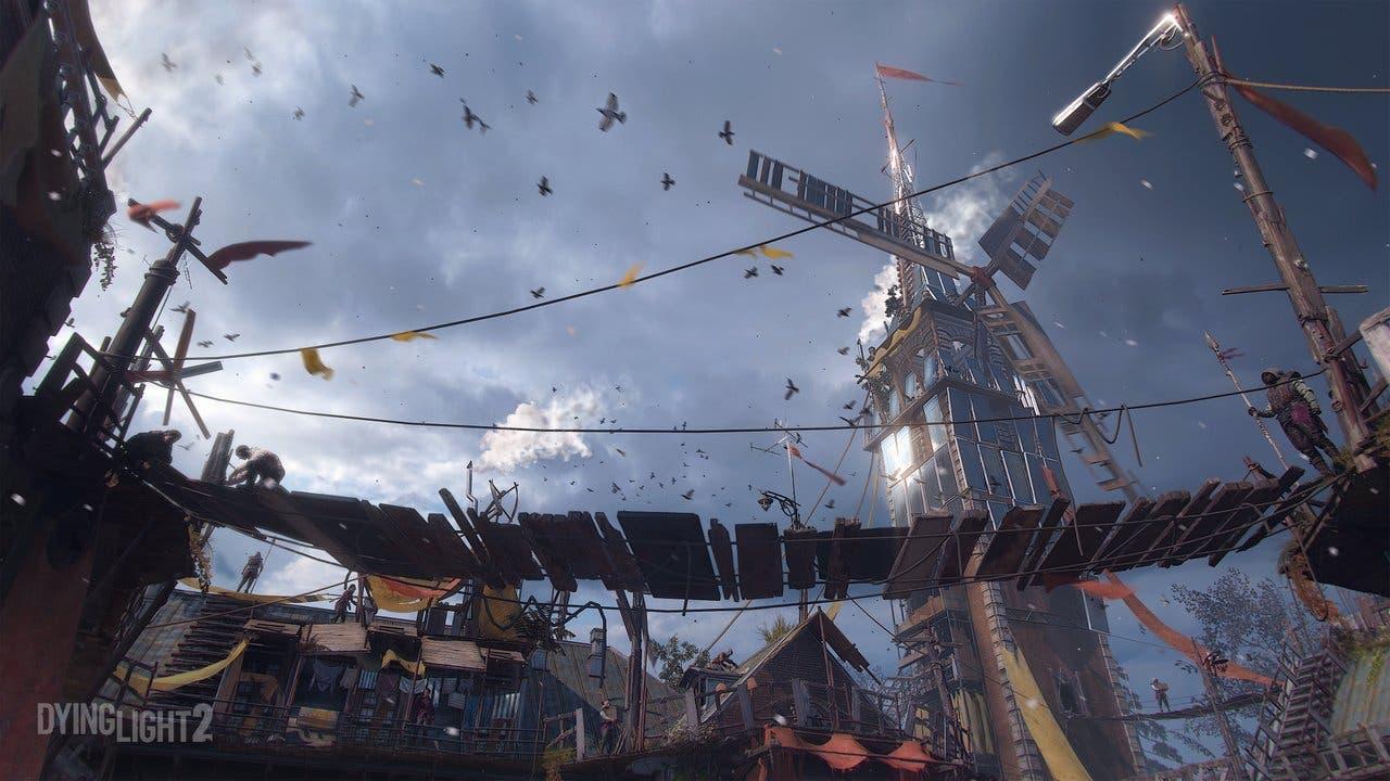 Imagen de Dying Light 2 será cuatro veces más grande que la primera entrega