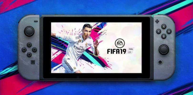 Se muestra el primer gameplay de FIFA 19 en Nintendo Switch