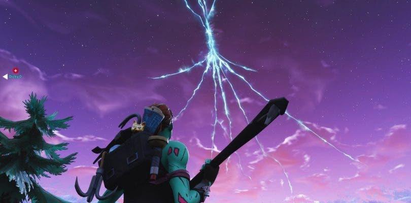 El popular cohete de Fortnite despega y aparece una brecha en el cielo