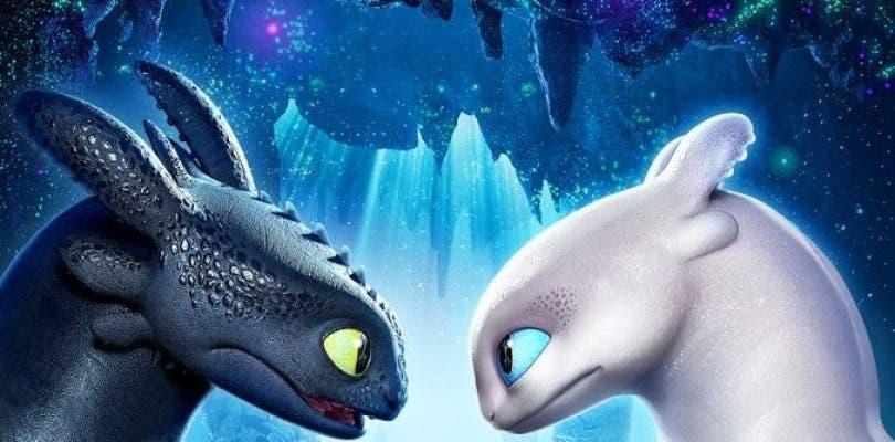 Cómo entrenar a tu dragón 3 deslumbra con su espectacular póster