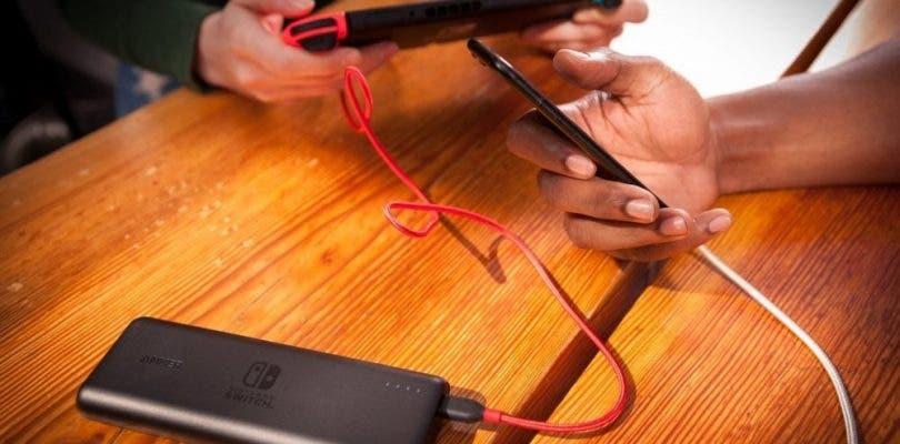 Nintendo muestra sus primeros dispositivos portátiles de carga para Switch