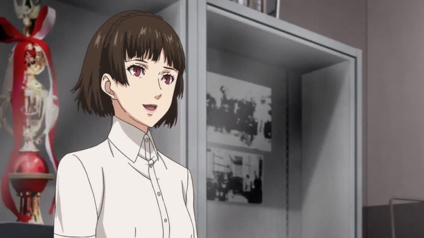 Imagen de Makoto entra en escena en el episodio 10 de Persona 5: The Animation