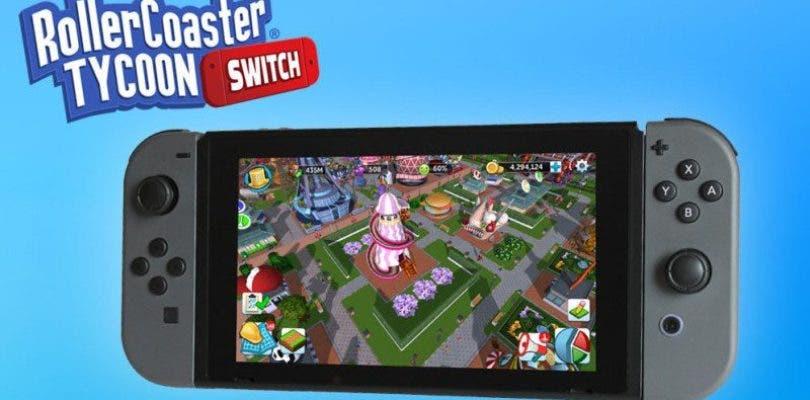 RollerCoaster Tycoon Adventures da nuevos detalles de su versión Switch