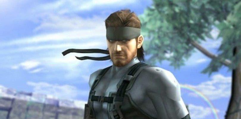 snake super smash bros.