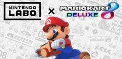 Nintendo Labo se hace compatible con Mario Kart 8 Deluxe
