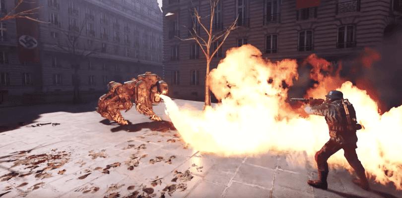 La aventura para realidad virtual Wolfenstein: Cyberpilot se deja ver en acción