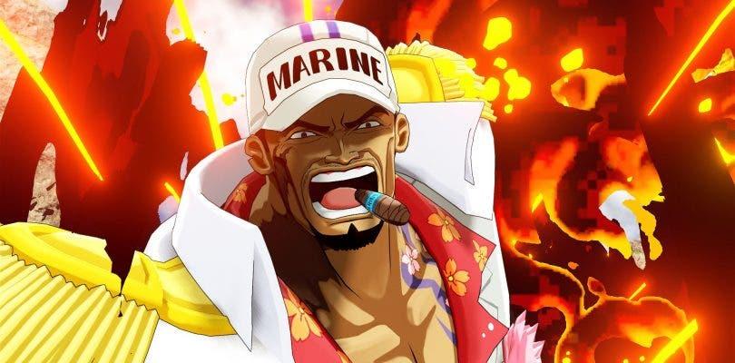 Sakazuki, Kuzan y Crocodile se dejan ver en las nuevas imágenes de One Piece: World Seeker