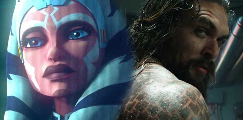 Triunfadores en redes de la Comic-Con: The Clone Wars y Aquaman arrasan