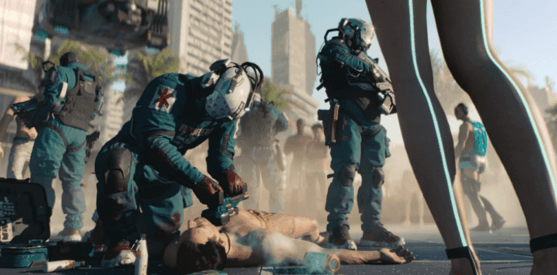 CD Projekt RED nos introduce al Trauma Team de Cyberpunk 2077