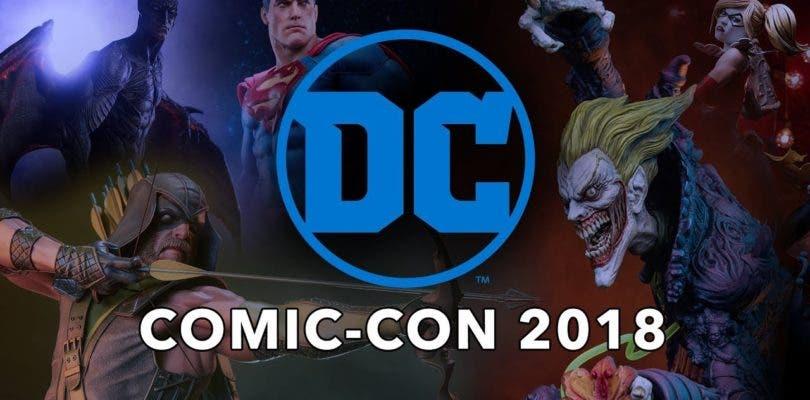 Sideshow Collectibles muestra sus cartas en la Comic Con de San Diego sobre el universo de DC