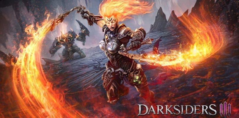 Darksiders III se luce en una nueva y extensa escena