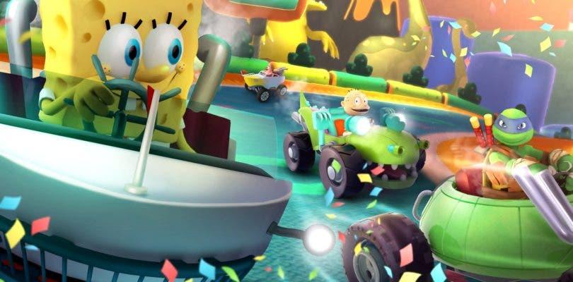 Nickelodeon Kart Racers llegará el próximo mes de octubre a varias plataformas