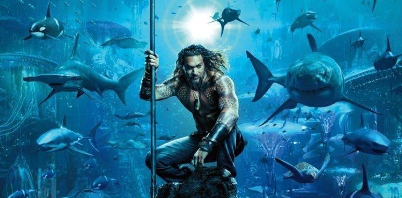 Jason Momoa lidera un ejército marino en el primer póster de Aquaman
