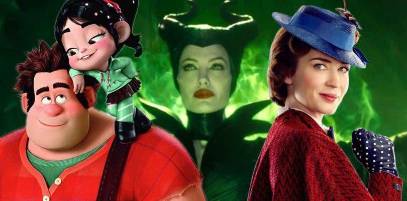 Terremoto en el calendario de estrenos Disney: Maléfica 2, Mary Poppins y más