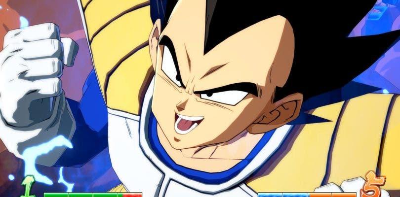 Goku y Vegeta se baten en duelo en su forma base en Dragon Ball FighterZ