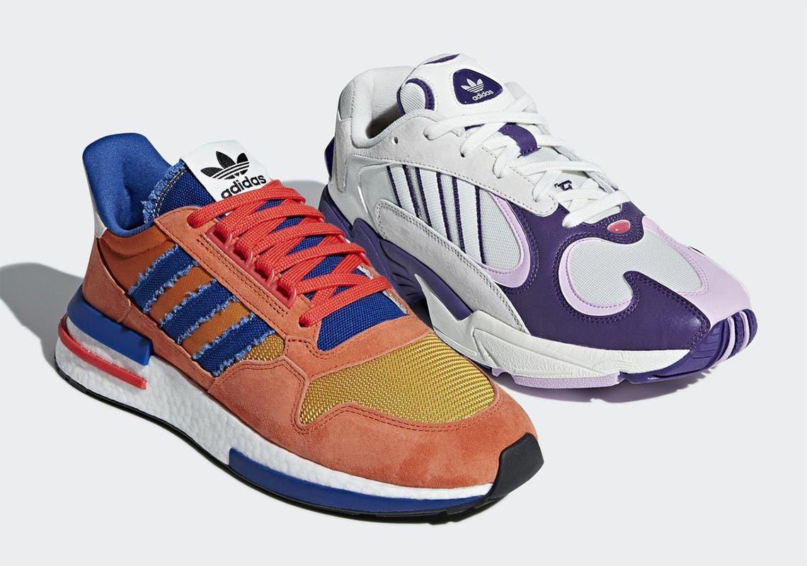 sección especial muy baratas Amazonas Adidas muestras más de cerca las zapatillas de Dragon Ball ...