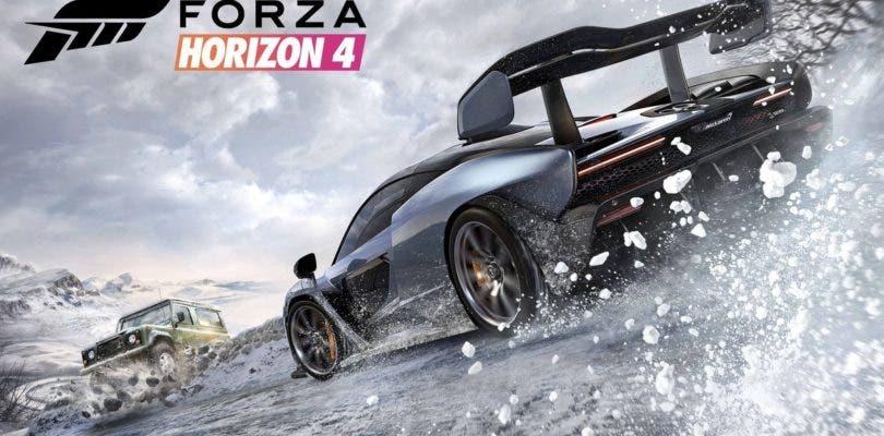 Forza Horizon 4 se luce en 4K en un nuevo gameplay mostrando las 4 estaciones