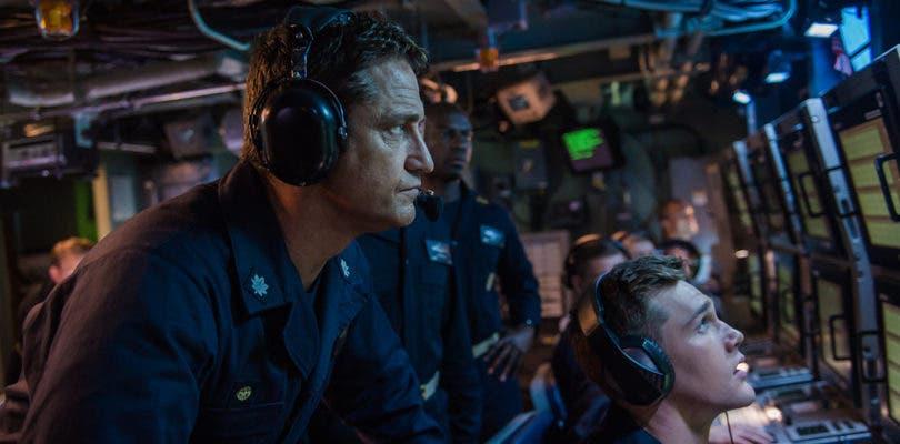 Gerard Butler lidera un submarino en el primer tráiler de Hunter Killer