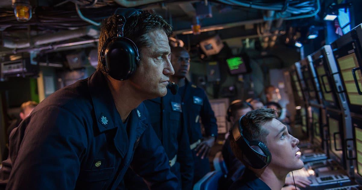 Imagen de Gerard Butler lidera un submarino en el primer tráiler de Hunter Killer