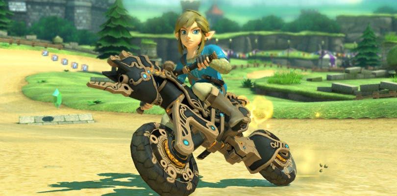 Nuevo contenido de Zelda: Breath of the Wild llega a Mario Kart 8 Deluxe con su última actualización