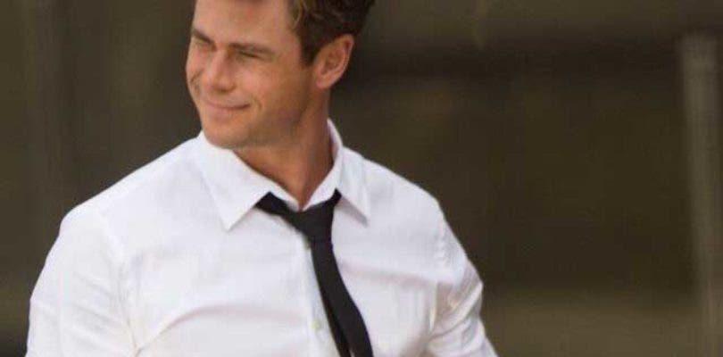 Chris Hemsworth y Tessa Thompson juntos en una nueva imagen de Men in Black