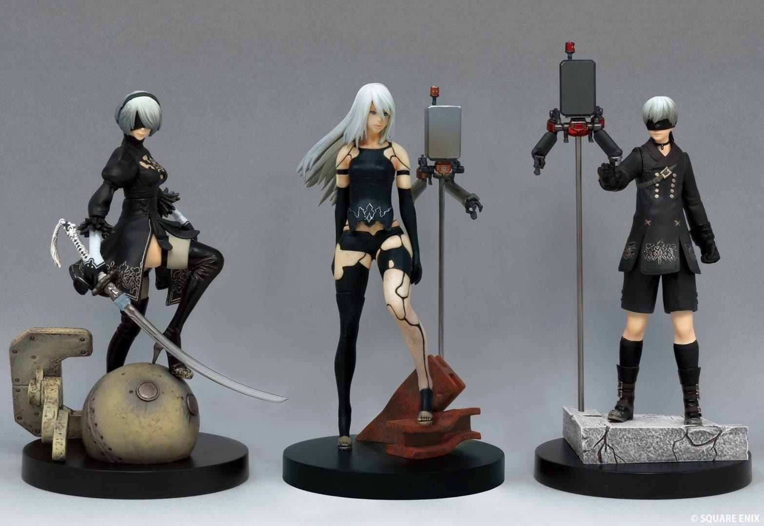 Imagen de NieR:Automata: Square-Enix muestra una nueva figura de A2