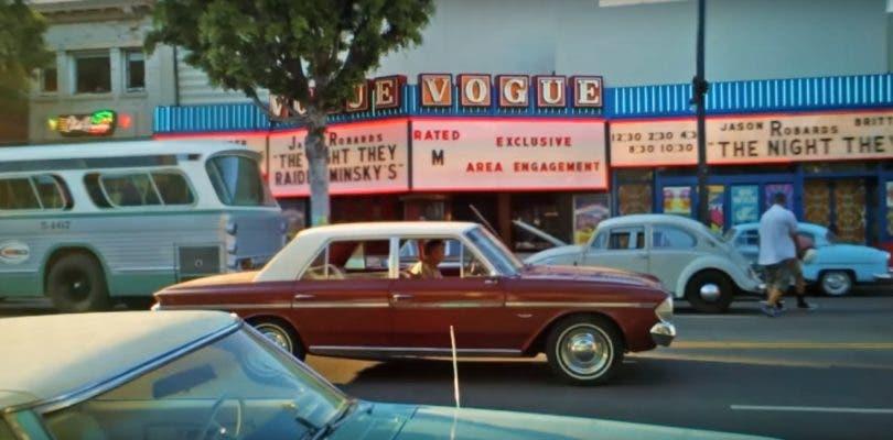 Regreso a los 60 con el nuevo vídeo del rodaje de Once Upon a Time in Hollywood