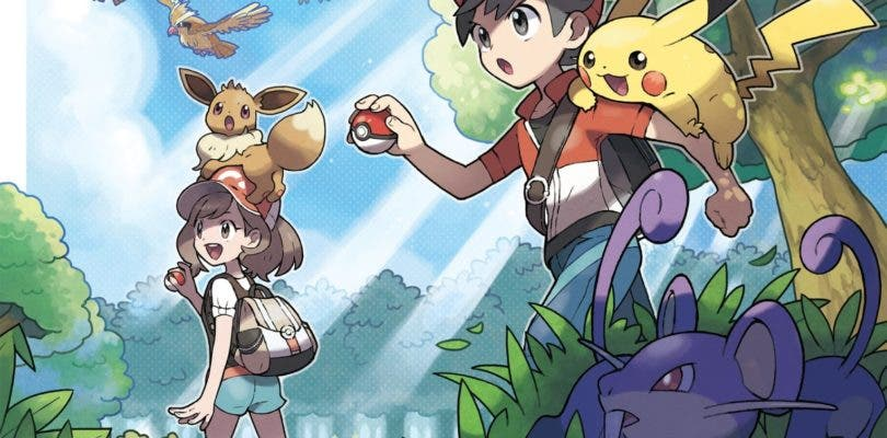 Pokémon: Let's Go Pikachu/Eevee enseñan el inicio de su aventura en vídeo