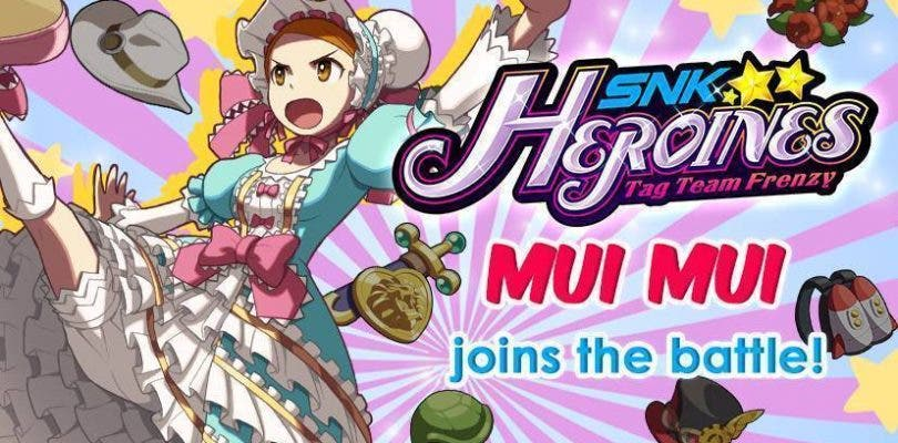 Mui Mui se une al plantel de luchadoras de SNK Heroines: Tag Team Frenzy