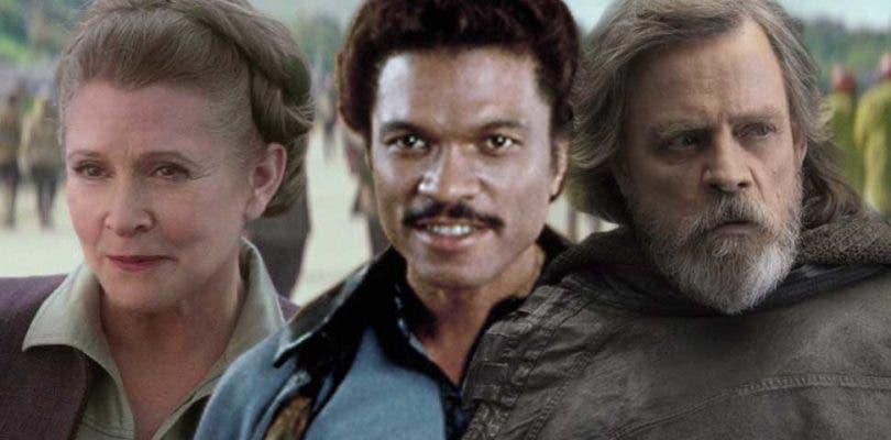 Reparto oficial de Star Wars: Episodio IX; vuelven Carrie Fisher y Mark Hamill