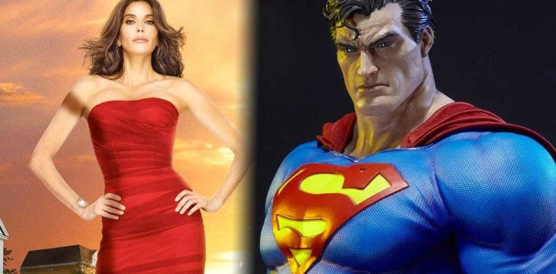 Teri Hatcher queda prendada del Superman de Prime 1 Studio