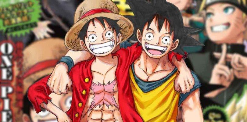 Eiichiro Oda dibuja a Goku por el 50 aniversario de la Weekly Shonen Jump