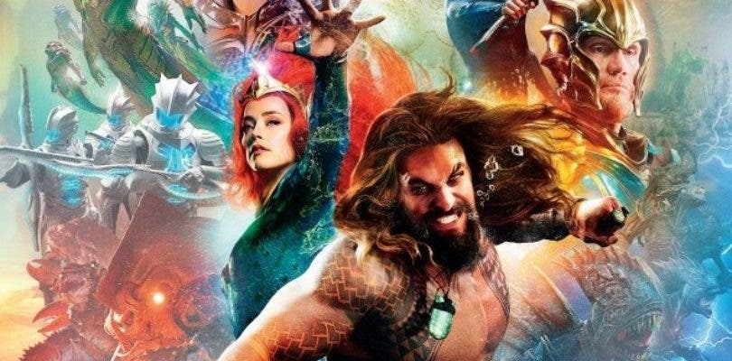 Espectacular imagen de Aquaman con todos los protagonistas