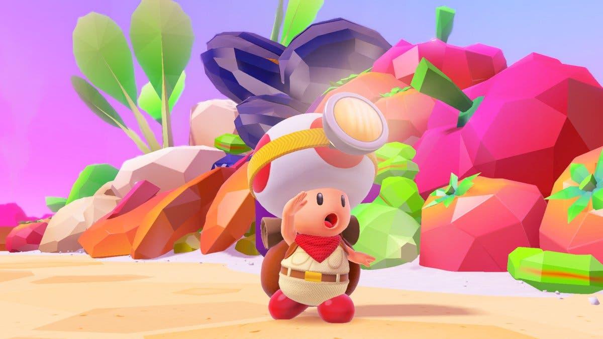 Imagen de Los amiibos de Super Mario Odyssey en Captain Toad desbloquearán niveles